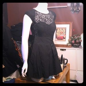 Kimchi blue UO little black lace dress